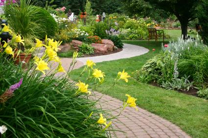 Lối dạo cho sân vườn biệt thự